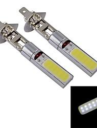 H1 10W 840lm COB LED White Car Fog Light (12V / 2 PCS)