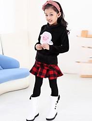 Girl's Cotton/Polyester Skirt , Winter/Spring/Fall