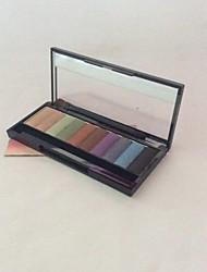 10 Eyeshadow Palette Shimmer Eyeshadow palette Powder Normal