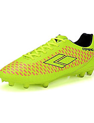 Men's Soccer Shoes Leatherette Yellow / Green