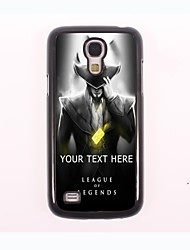caja del teléfono personalizado - caso del diseño del metal de pirata para Samsung Galaxy S4