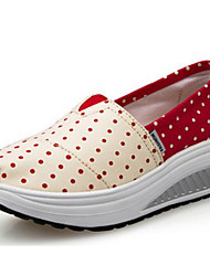 Women's Walking Shoes Fabric Beige