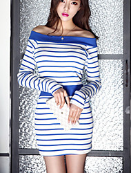 Beatrice Women's Stripe Print Dress