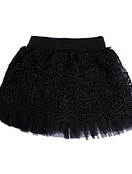 Girl's Fashion Lovely Noble Lace Veil Skirt