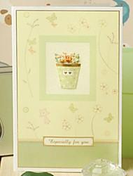 The Green Applique  Thank You Card