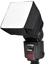 Godox 10 x 10cm Caméra Flash Universel Diffuseur Softbox pour Canon, Nikon, Sony, Pentax, Olympus