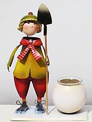 Algam doll Candle Holder