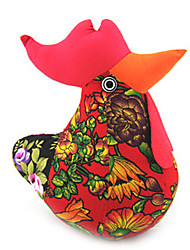 Cute Stuffed Easter Chicken Wine Red ,Cotton