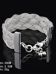 Fashion Sterling Silver Women's Bracelet