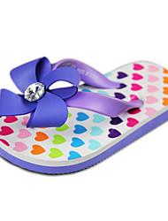 Zapatillas ( Púrpura ) - Chancletas - Satén