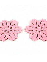 Creative Flower Style Sponge Cup Mats Coasters 2PCS