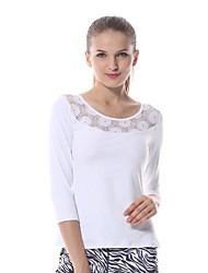 Yoga Hauts/Tops / Tee-shirt Respirable / Séchage rapide Extensible Vêtements de sport Femme-Yokaland,Yoga / Pilates / Fitness