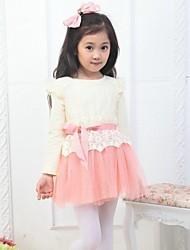 vestido de la manera del vestido del bebé vestidos de los niños de primavera de la mariposa de tul tutú de la muchacha del otoño niños de la ropa de