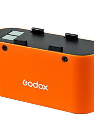 Godox 4500mAh PB960 Power Battery Pack for Camera Flash+Godox PB-Mx Power Cable for Metz 58AF Speedlite-Black/Orange