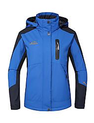Femme Veste de Randonnée Etanche Garder au chaud Pare-vent Isolé Respirable Anorak pour Ski/snowboard Veste Veste pour Femme Veste d'Hiver