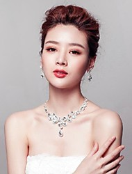 Jewelry Set Women's Anniversary / Wedding / Engagement / Birthday / Gift / Party / Daily / Special Occasion Jewelry Sets Titanium