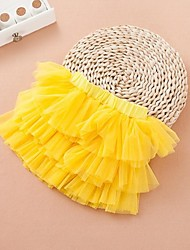 Girl's Mesh Skirt , Summer/Spring/Fall