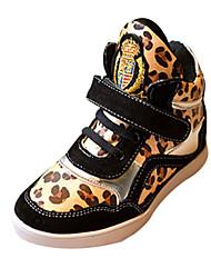 ДЕВУШКА - Модная обувь ( Расцветка, имитирующая шкуру животного ) - Комфорт/Круглый носок