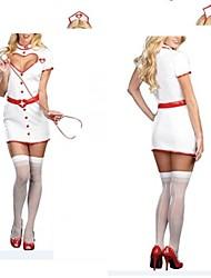 sedutora garota enfermeira branca cosutmes uniforme sexy adulto