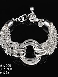 Fashion Sterling Silver  Fringe  Women's Bracelet