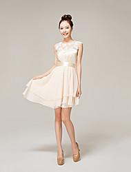 dentelles couleur unie la robe de yhz femmes