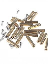 bidirectionnelles laiton 20mm bricolage terminaux de poste de liaison pour (pour Arduino) (50 pièces)