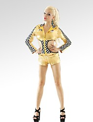 Cheerleader Costumes Women's Fashion Long Sleeve Dance Performance Outfit