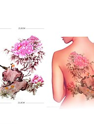 1 pcs motif de support tatouage les autocollants de super-carduelis étanches