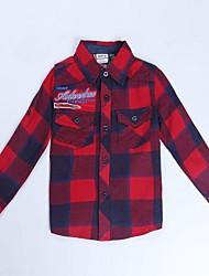 Boy's Cotton Shirt , Winter/Spring/Fall Long Sleeve