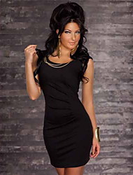 noite fashion vestido sleevless bodycon da véspera