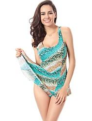 Women's Swimwear Multicolor Spots Printed Sexy Bikini