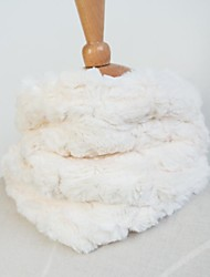 Fur Scarf Elegant Faux Rabbit Fur Special Occasion Kids Scarf / Wrap
