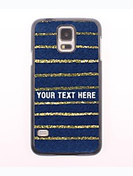 caja del teléfono personalizado - el caso del diseño de metal precioso para samsung galaxy s5