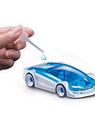 DIY Salt Water Power Toy Car Kit Saline Fuel Cell Power Educational Assemble Novelty Gift for Child