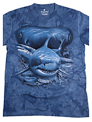 Cliff Walker Men's Floral Print T-shirts