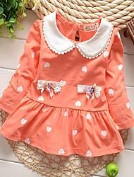 vestido de la princesa del hilado neto dulce de chica