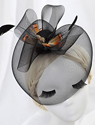 Women's Leather Headpiece - Wedding/Special Occasion Fascinators/Hats