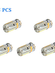 4W G4 LED à Double Broches 72 SMD 3014 360 lm Blanc Chaud / Blanc Froid DC 12 / AC 12 / AC 24 / DC 24 V 5 pièces