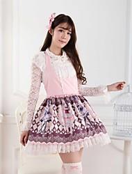 rosa dulce lolita rosa princesa princesa vestido precioso cosplay