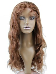 Promotion Top Quality Brazilian Lace Front Human Hair Half Wig 130% #4 Body Wave Glueless Wigs