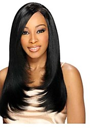 18inch  100% Human Hair Indian  Hair  Silky Straight Lace Front Wig