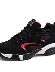 scarpe da tennis di cuoio degli uomini che camminano di più colori disponibili