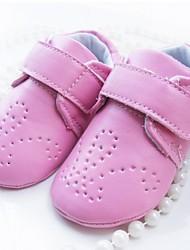 Mocassins ( Rosa/Branco ) - de MENINA - Sapatos para Primeiros Passos/Sapatos de Berço