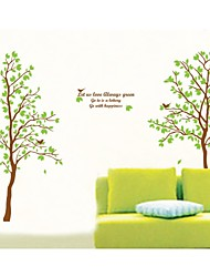 Wall Stickers Wall Decals, Style Shade Under A Tree PVC Wall Stickers