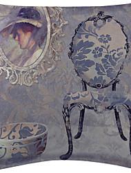 ensemble de deux noble mobilier de velours couvercle du coussin décoratif