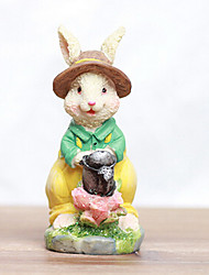 Easter Bunny Carry Watering Can Collectible
