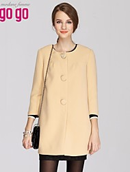 outerwear confortável das mulheres lagogo