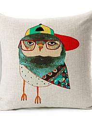 сын птица носить шляпу хлопок / лен Декоративные подушки крышки