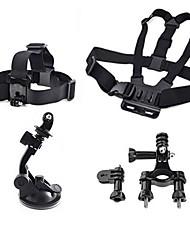 Harnais Poitrine / Sangle de poitrine Fixation Frontale Grande Fixation Ventouse Caméra Sportive Accessoires Kit Fixation PourTous Gopro