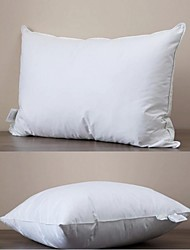 JFAMIEE Down Alternative Pillow, Standard Size, White
